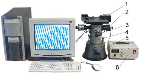 7.8.3.2 Оптическая схема автоматизированного микроскопа.